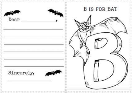 bat activities and crafts