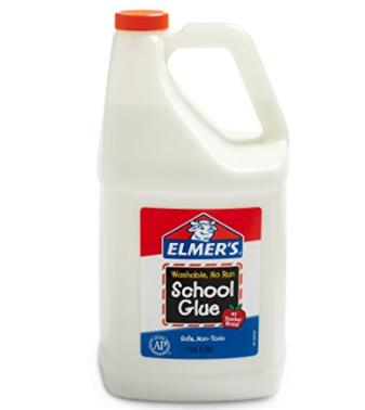 Elmer's gallon glue for slime