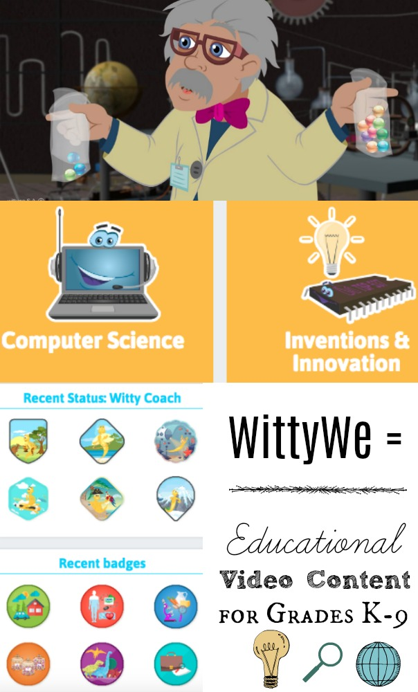 FREE Trial to WittyWe Educational Video Content for Grades K-9