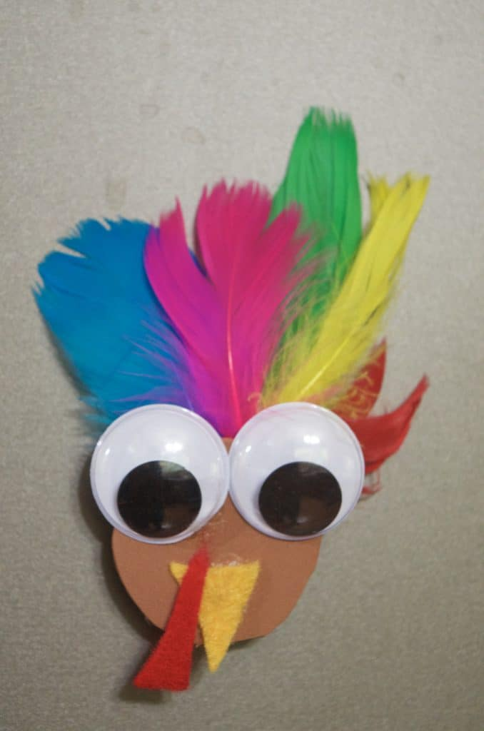 Simple Creative Turkey Crafts for Kids
