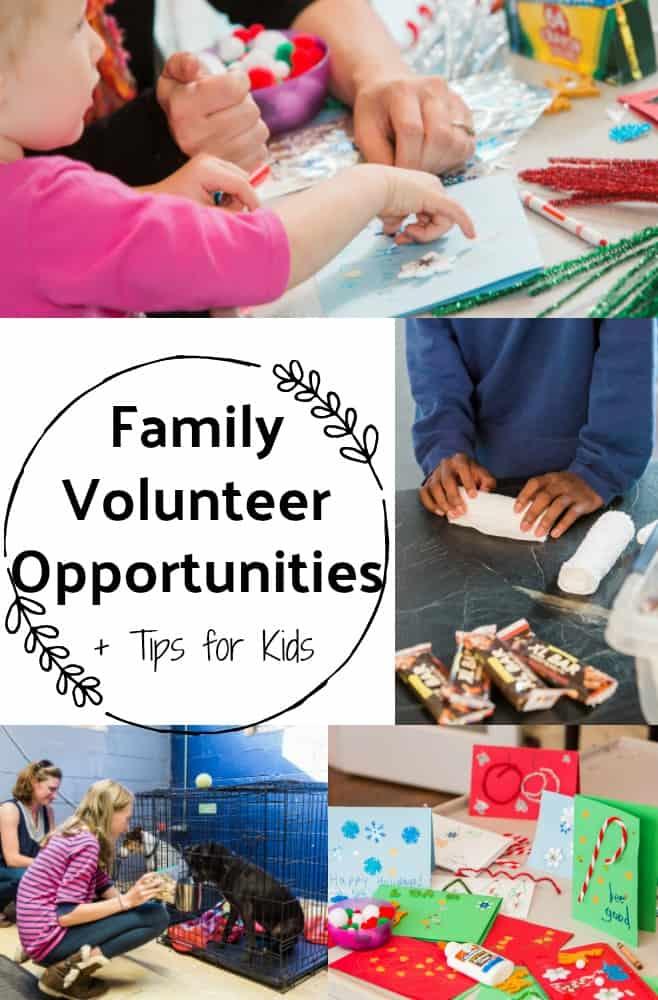 Family Volunteer Opportunities