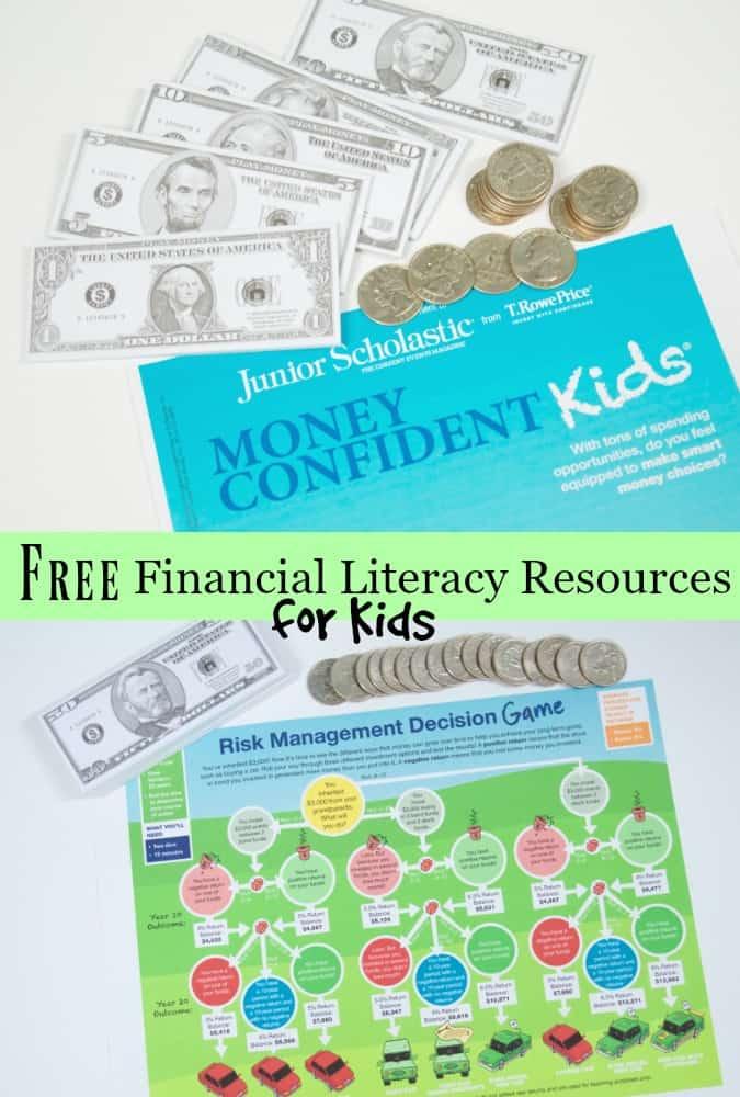 Money Confident Kids Magazine & Financial Literacy Resources