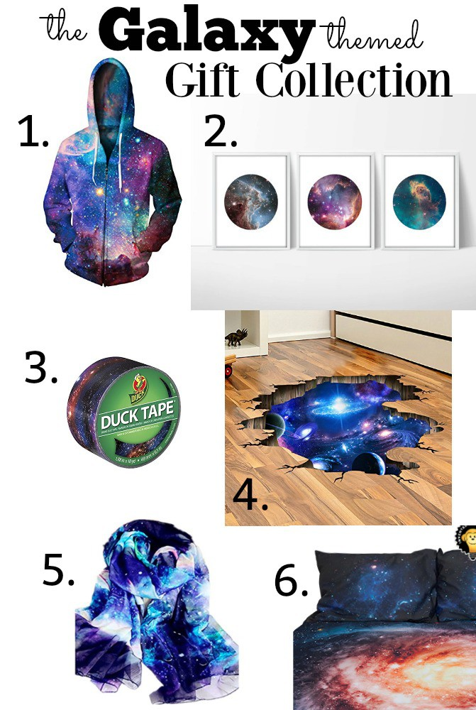 Galaxy Themed Space gift ideas