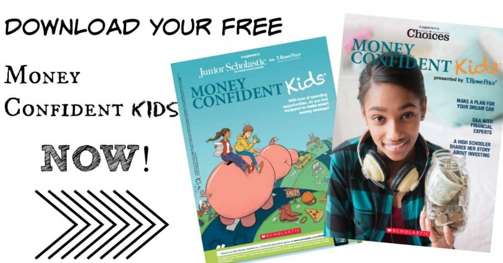 Money Confident Kids Magazine