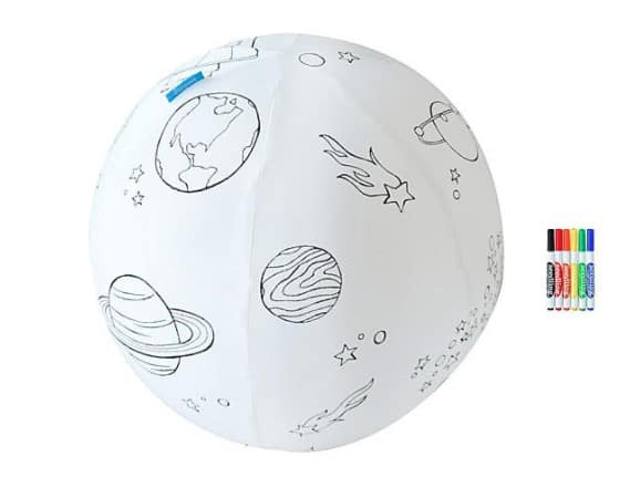 Color the Galaxy Ball