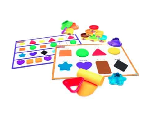Play-Doh Learn Colors and Shapes