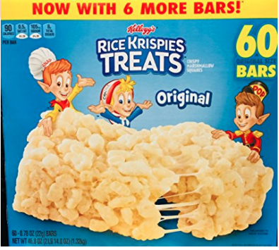 nut free rice krispies treats for classroom parties