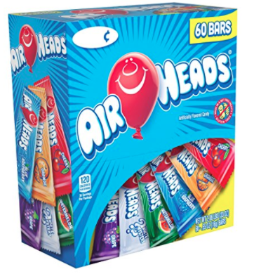 Airheads candy nut free for classroom parties