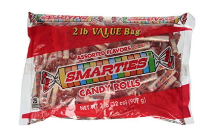 Smarties nut free gluten free for classroom parties