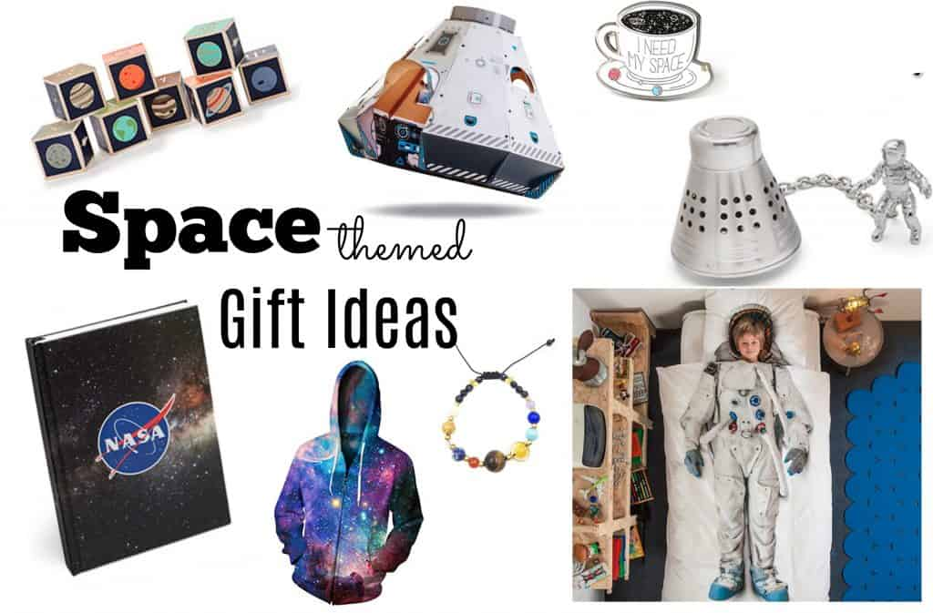 Space themed gift ideas social