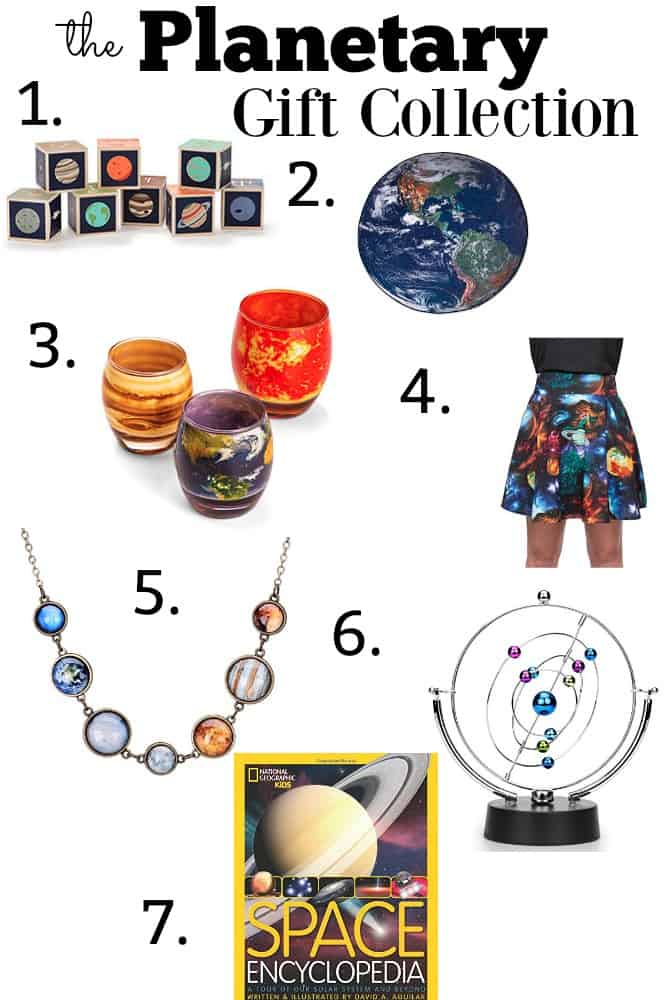 planetary space gift collection