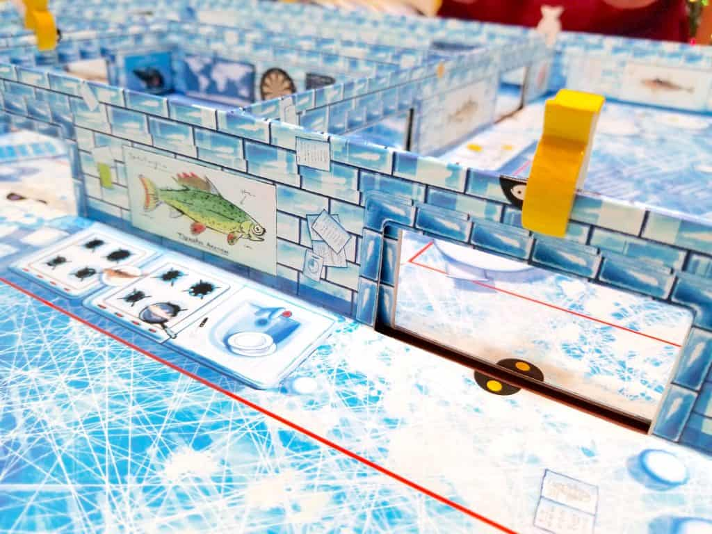 New Box in a Box Family Game: Ice Cool Board Game by Brain Games