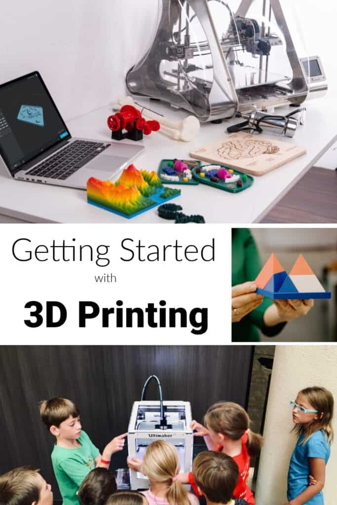collage of 3d printing scenes
