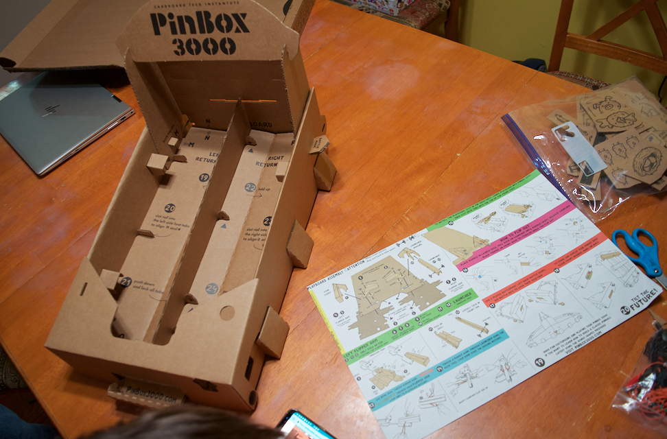 Pinbox 3000: Build Your Own Pinball Machine Game Review