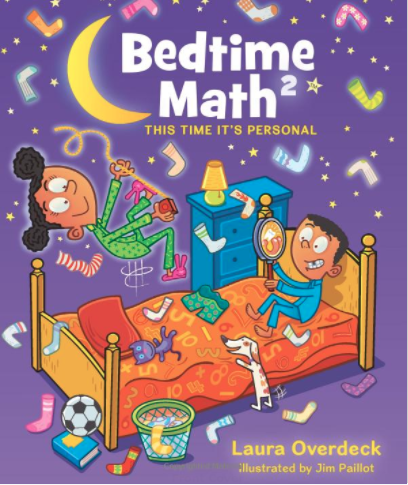 Bedtime Math Activities book for kids