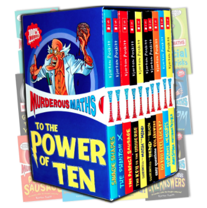 Murderous Math Book set for kids