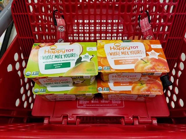Happy Tot Yogurt Cups at Target