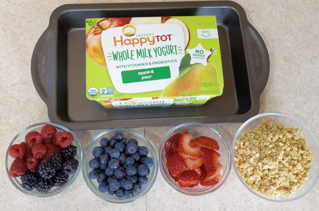 How to Make Kid Friendly Fruit Yogurt Bark Recipe