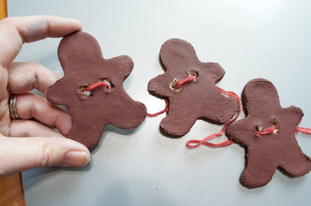Salt Dough Recipe: Gingerbread Men Banner Sensory Decor