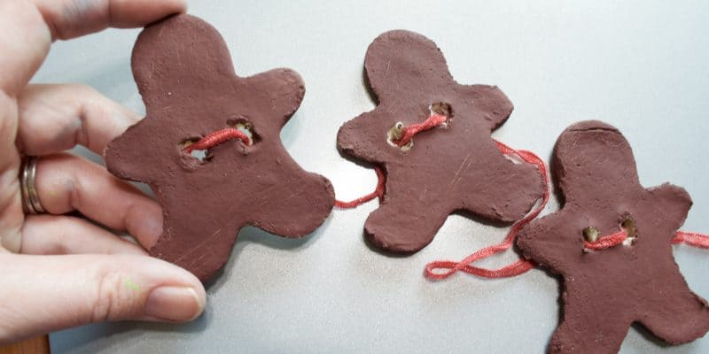 Salt Dough Recipe: Gingerbread Men Banner Sensory Decor