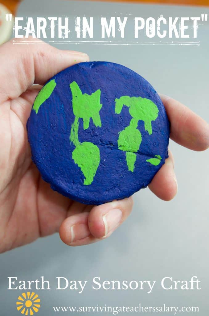salt dough earth day pocket pet