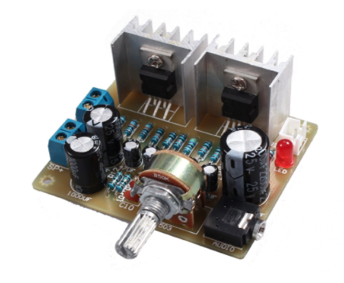 Stereo Audio Amplifier