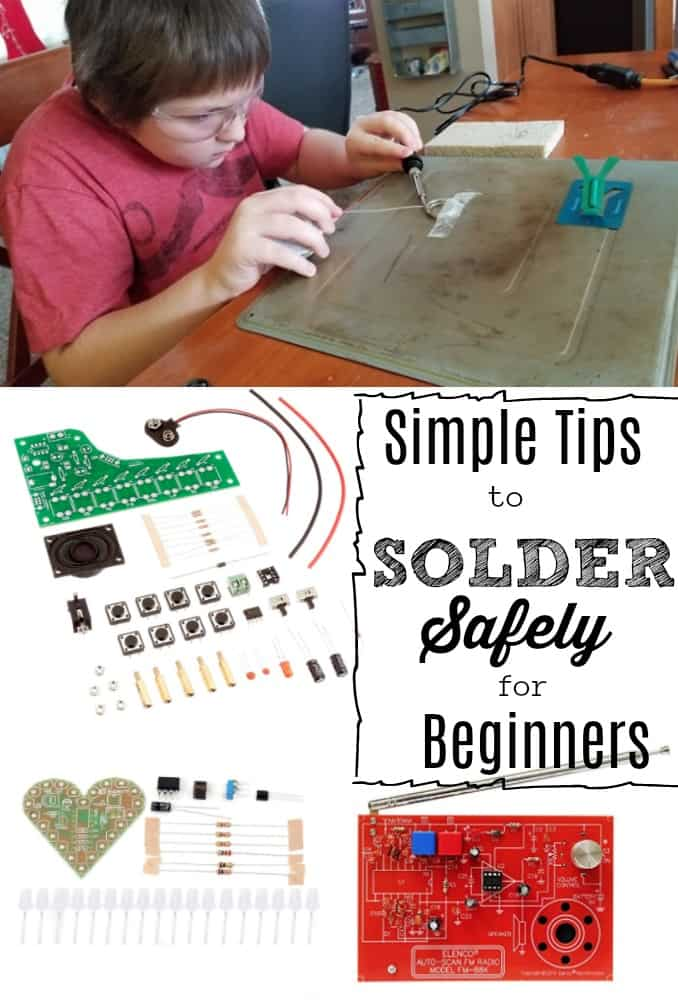 STEM Activity for Teens: Simple Tips to Solder Safely for Beginners