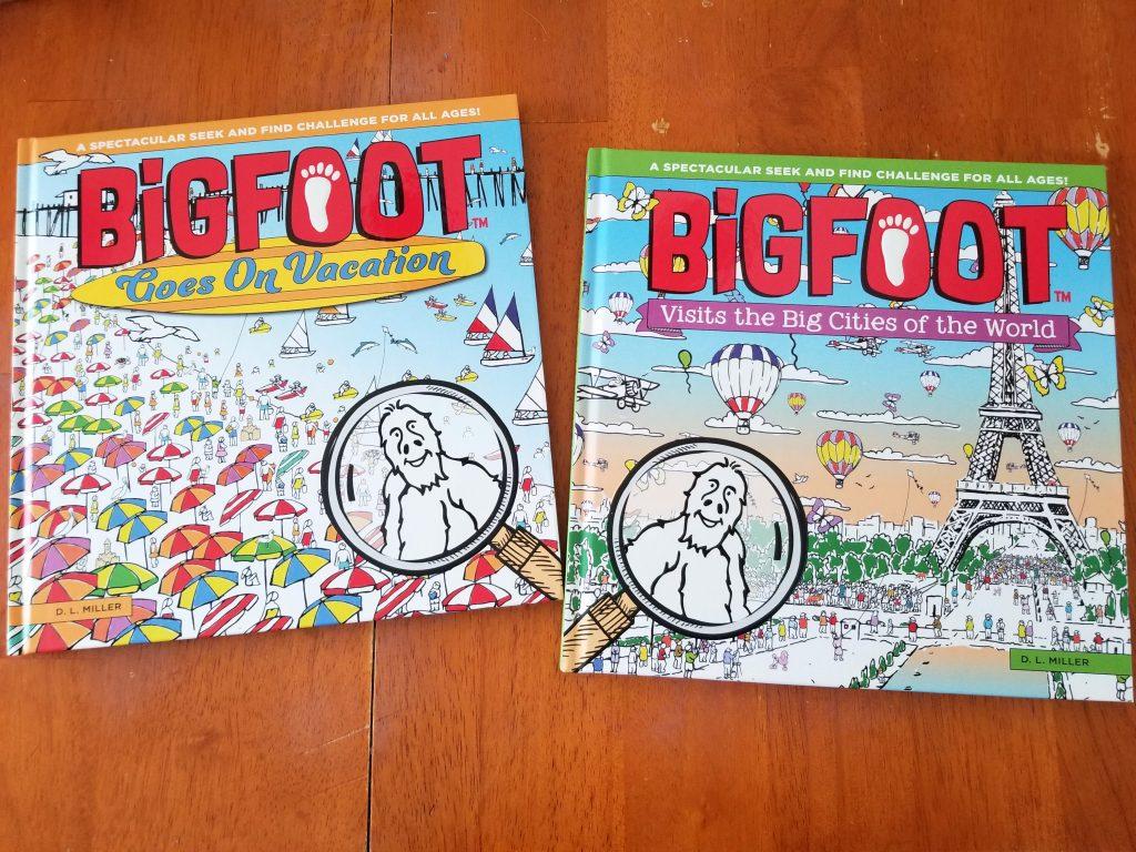 Bigfoot Travel Books children's picture book