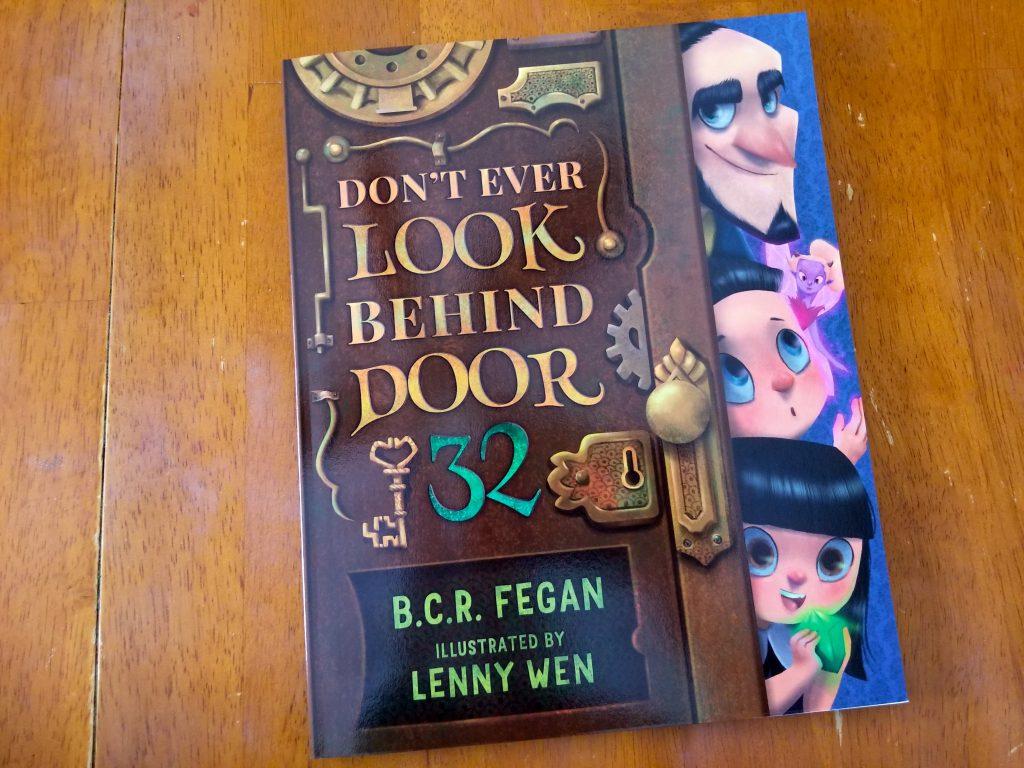 Don't Ever Look Behind Door 32 children's picture book