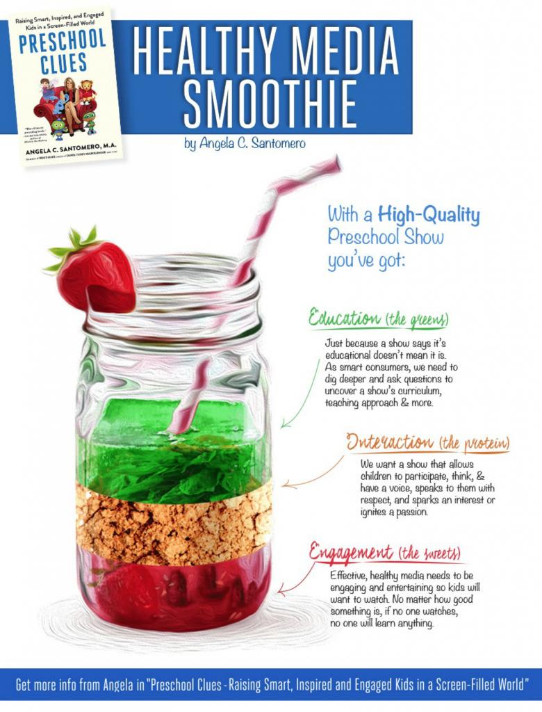 Healthy Media Smoothie - Edutainment