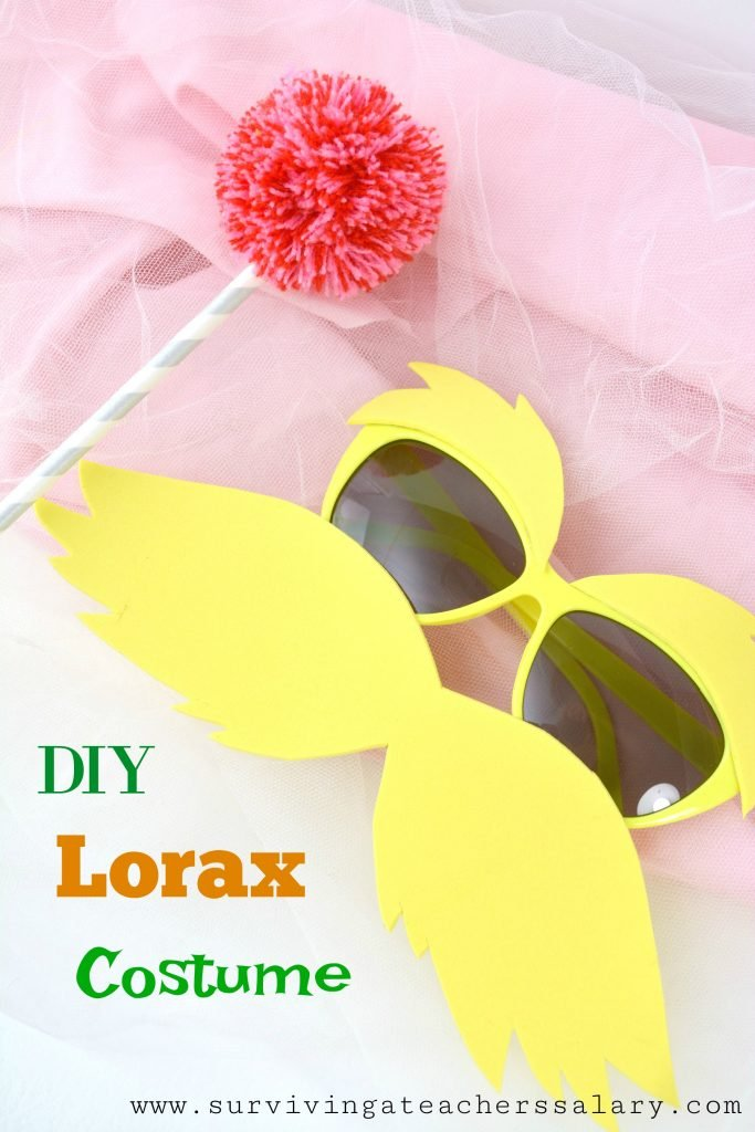 How to Make Lorax Costume Tutorial 2