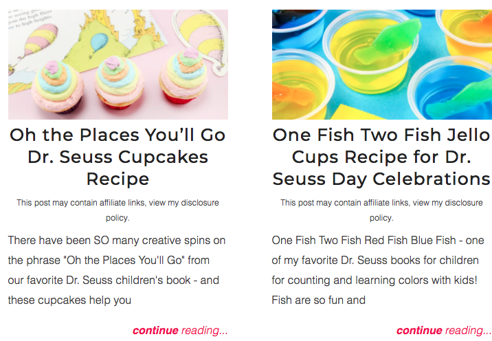 dr seuss recipe tutorials