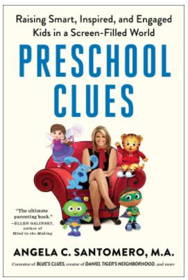 Preschool Clues book by Angela Santomero