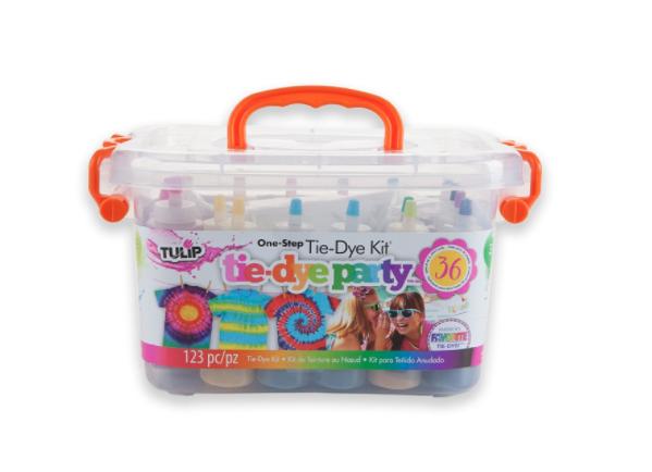 tie dye art party kit