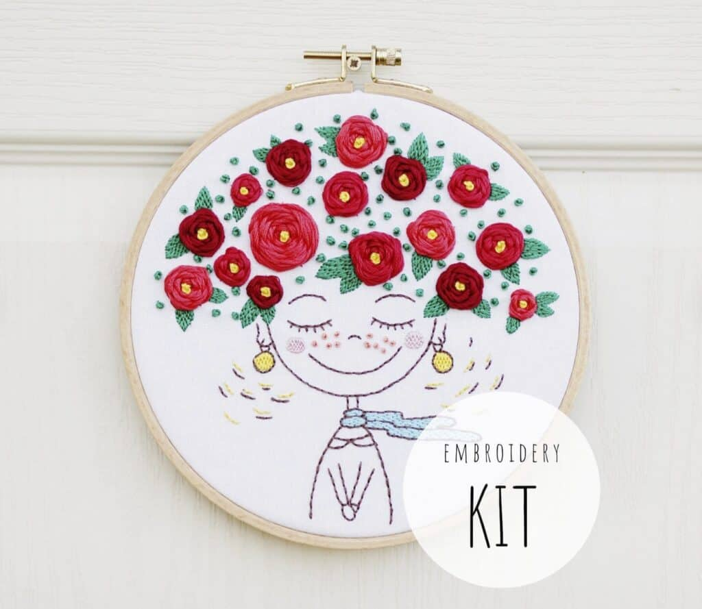 Embroidery art kit