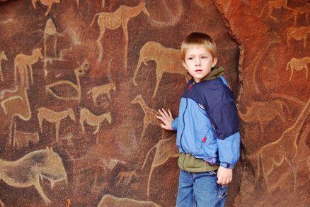 Cave Painting petroglyphs