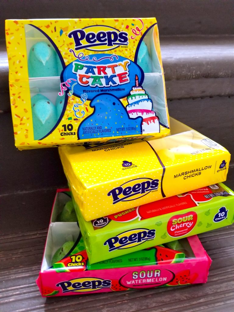 4 boxes of PEEPS Easter Candy