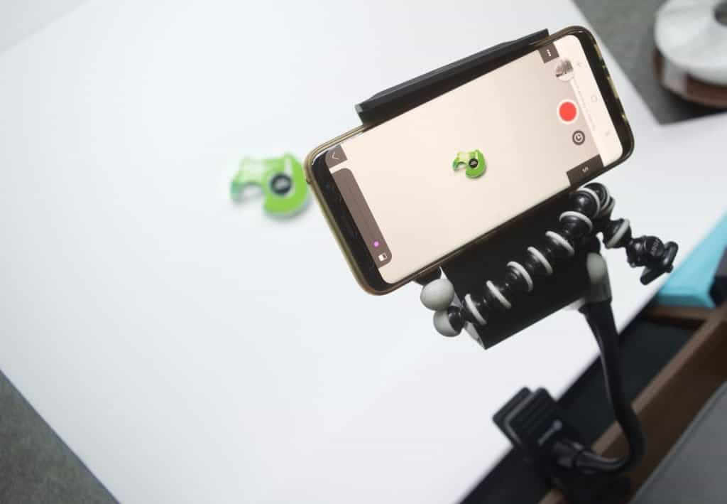 phone mount for stop animation video setup