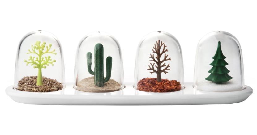 stylish seasons salt and pepper kitchen shakers