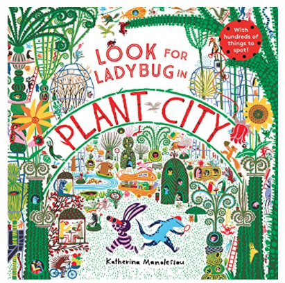 Look for Ladybug in Plant City children's book