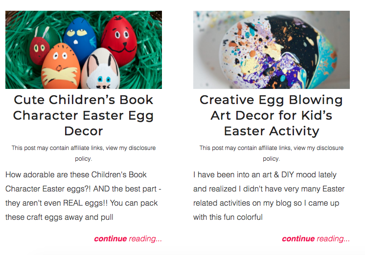 Children's Easter Crafts