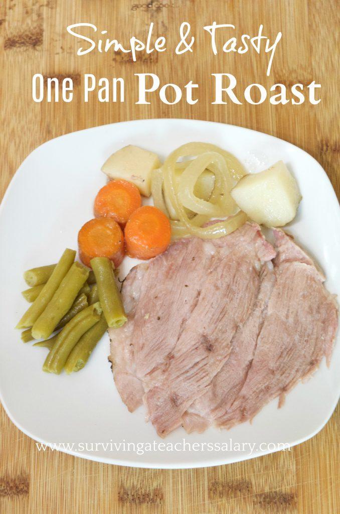 Simple & Tasty Pot Roast Recipe Dinner for the Family