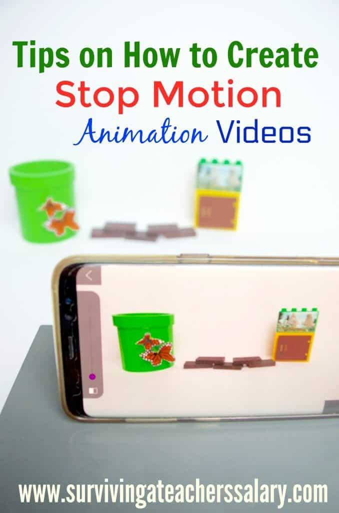 stop motion animation with phone