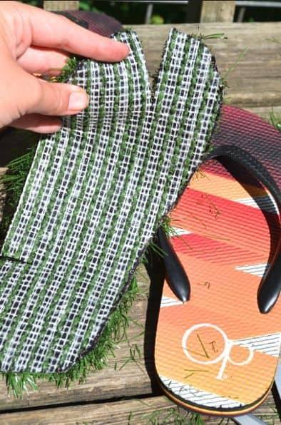 cutting the Grass Summer Flip Flops shoes