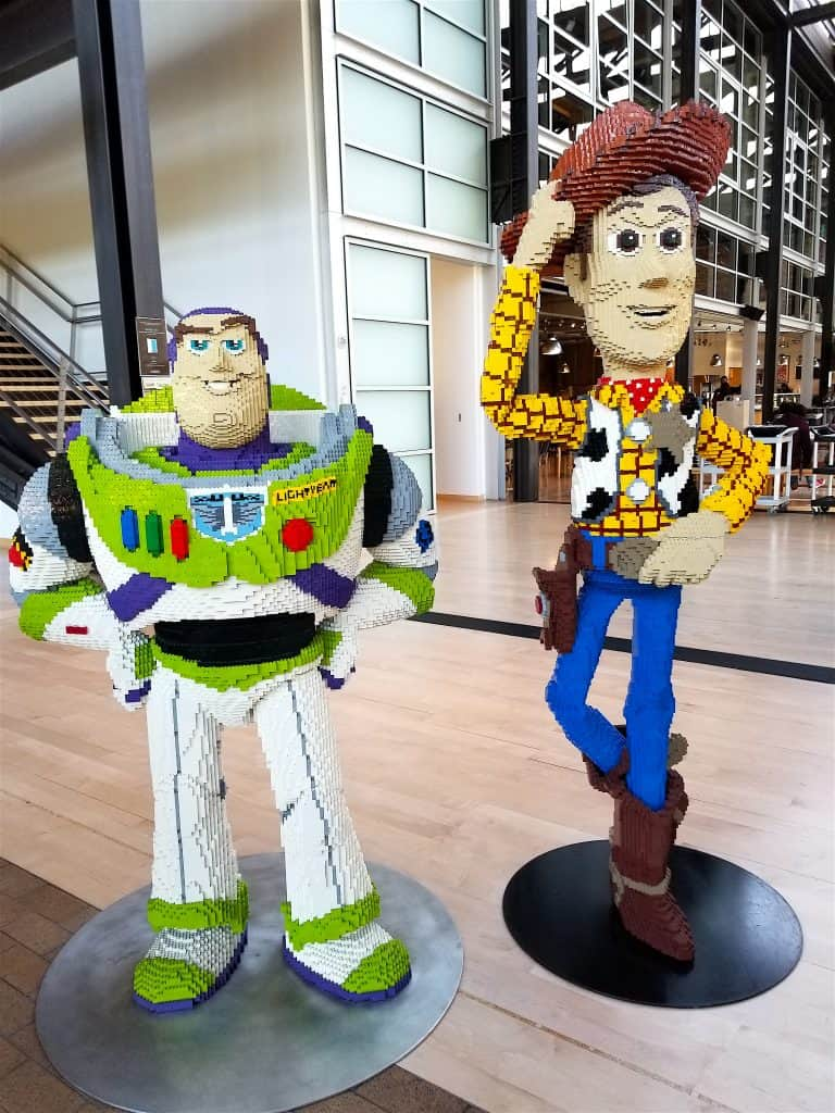 Toy Story Woody & Buzz at Pixar