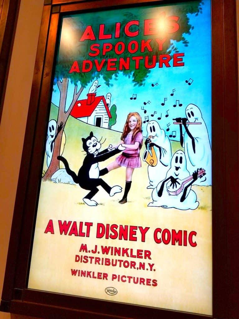 Alice's Spooky Adventure Disney Comic