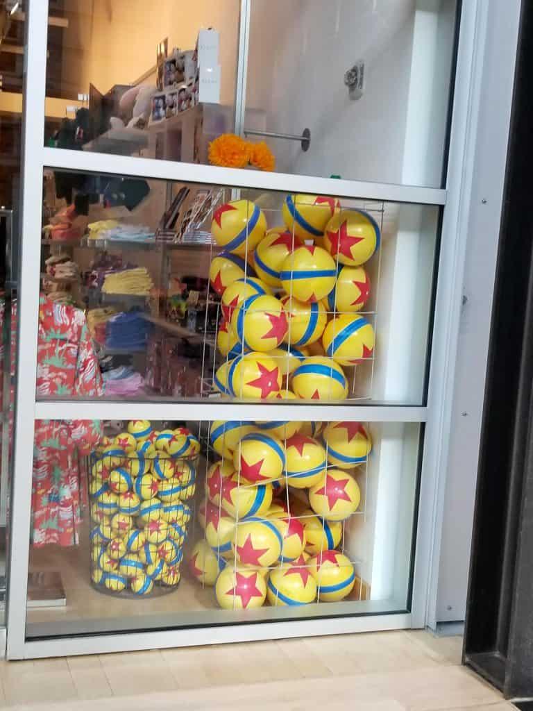 Pixar Balls in toy pile