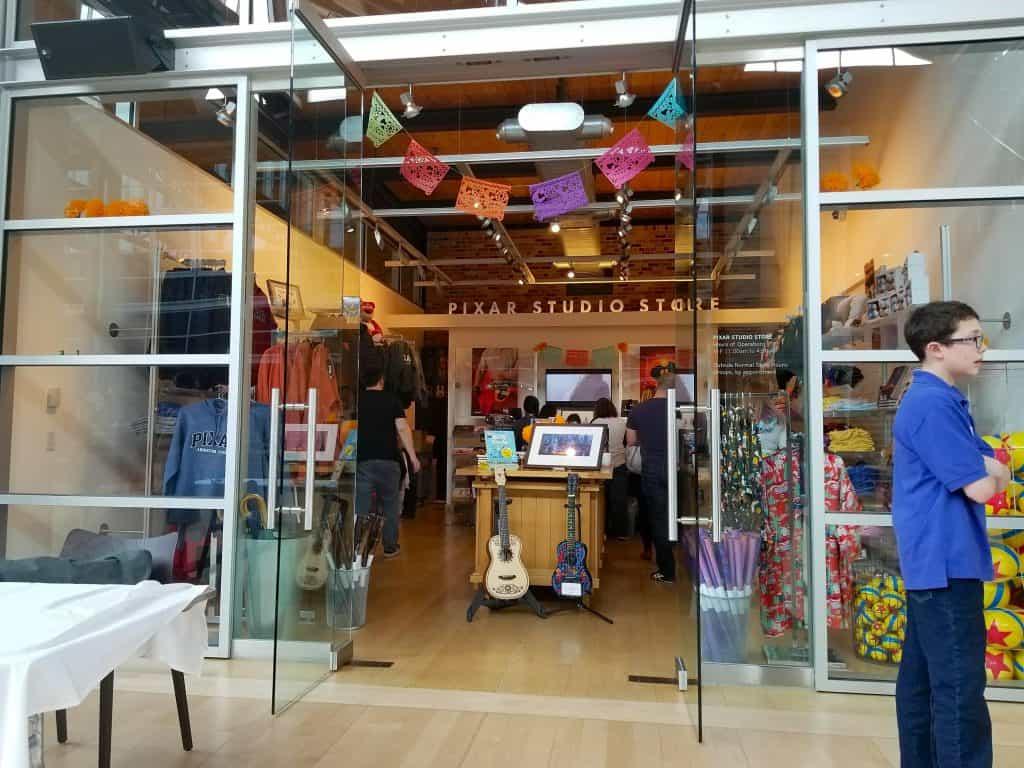 Pixar Studios store to shop in