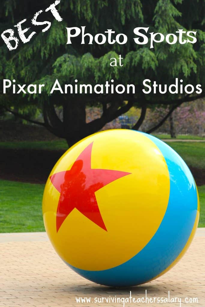pixar ball at Pixar studios