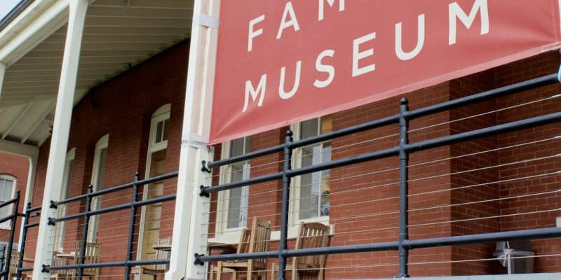 The Walt Disney Family Museum sign